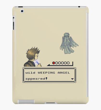 Weeping Angel Appeared! iPad Case/Skin