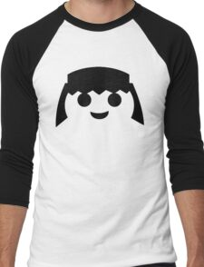 PLAYMOBIL HAPPY FACE Men's Baseball ¾ T-Shirt