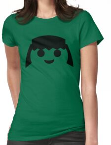 PLAYMOBIL HAPPY FACE Womens Fitted T-Shirt