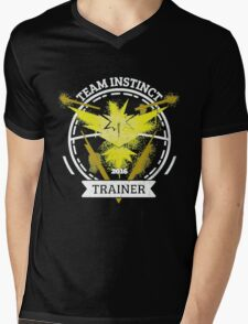 ♥ Team Instinct ♥ Mens V-Neck T-Shirt