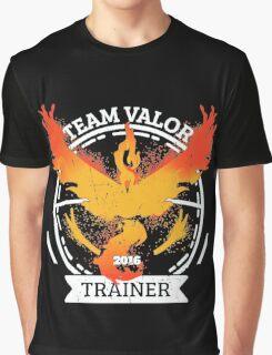 ♥ Team Valor ♥ Graphic T-Shirt