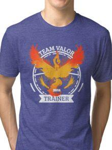♥ Team Valor ♥ Tri-blend T-Shirt