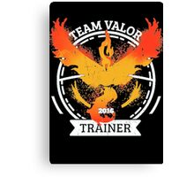 ♥ Team Valor ♥ Canvas Print