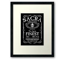 Try Again Finest Sacra Framed Print