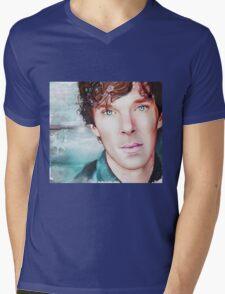 Benedict Cumberbatch Artwork Design 3  Mens V-Neck T-Shirt