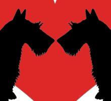 Scottish Terriers Sticker