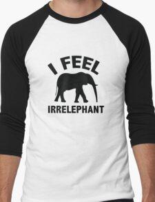 I Feel Irrelephant Men's Baseball ¾ T-Shirt
