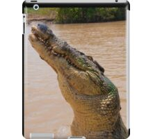 Croc smile, Northern Territory, Australia iPad Case/Skin