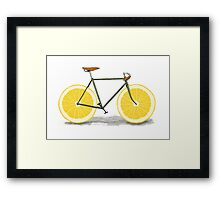 Healthy Bike Framed Print