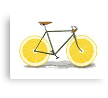 Healthy Bike Canvas Print