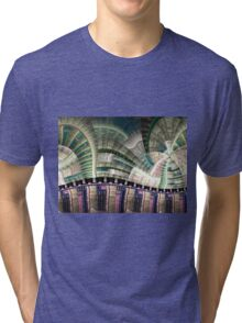Industrial - Abstract Fractal Artwork Tri-blend T-Shirt