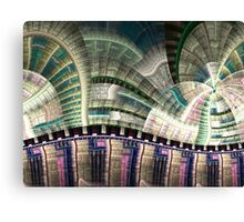 Industrial - Abstract Fractal Artwork Canvas Print