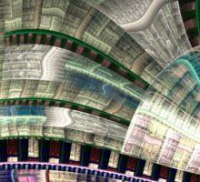 Industrial - Abstract Fractal Artwork Sticker