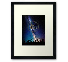 The Lord Of The Rings Framed Print