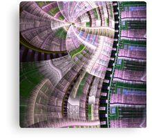 Clockwork Pattern - Abstract Fractal Artwork Canvas Print