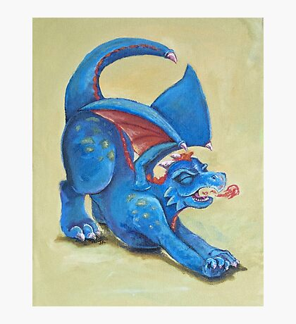 Dragon Roar Photographic Print