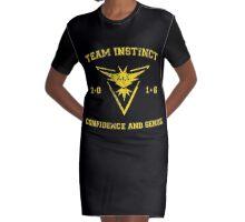 Team Instinct Graphic T-Shirt Dress