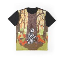 Fox Grave Graphic T-Shirt