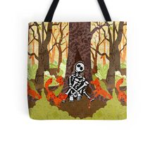 Fox Grave Tote Bag