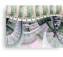 Clockwork - Abstract Fractal Artwork Canvas Print
