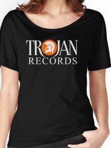 TROJAN RECORDS ORIGINAL LOGO Women's Relaxed Fit T-Shirt