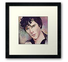 Benedict Cumberbatch Artwork Design 4 Framed Print
