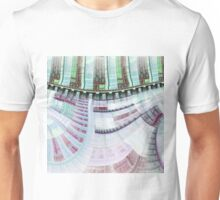 Steampunk Clockwork - Abstract Fractal Artwork Unisex T-Shirt