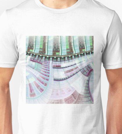 Steampunk Clockwork - Abstract Fractal Artwork Unisex T-Shirt