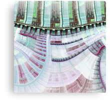 Steampunk Clockwork - Abstract Fractal Artwork Canvas Print