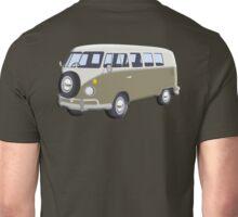 CAMPER VAN, Volkswagen Van, Camper, Split screen, 1966 Volkswagen, Kombi (North America) Unisex T-Shirt