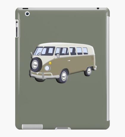 CAMPER VAN, Volkswagen Van, Camper, Split screen, 1966 Volkswagen, Kombi (North America) iPad Case/Skin