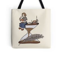 Feather & hourglass 1 Tote Bag