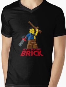 Hail to the Brick! Mens V-Neck T-Shirt