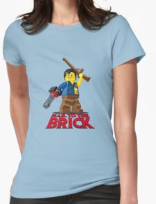 Hail to the Brick! Womens Fitted T-Shirt