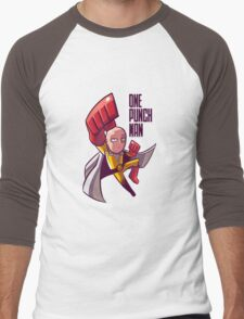 manga one punch man Men's Baseball ¾ T-Shirt