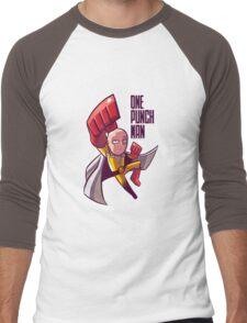 manga one punch man Men's Baseball ¾ T-Shirt