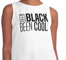 BEEN BLACK, BEEN COOL! Contrast Tank