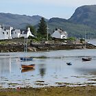 Idyllic Plockton by Claudia Dingle