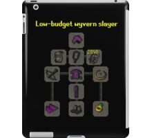 Low-budget wyvern slayer build iPad Case/Skin