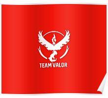 Team Valor - Pokémon Go Poster