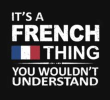 French thing Kids Tee