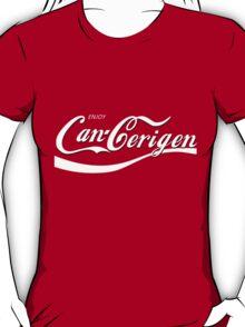 Enjoy Can-Cerigen - red T-Shirt