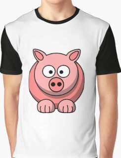 A funny pig drawing Graphic T-Shirt