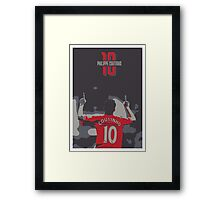 PHILIPPE COUTINHO 10 - LIVERPOOL FC  Framed Print