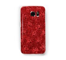 Vintage Floral Ribbon Red Samsung Galaxy Case/Skin