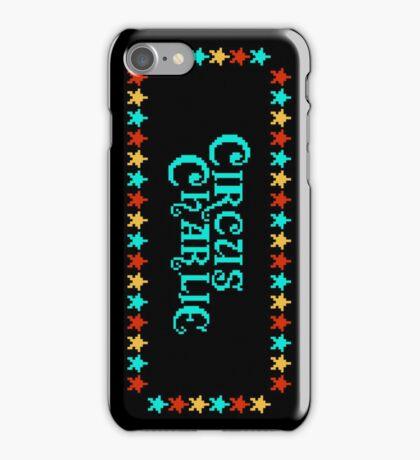 CIRCUS CHARLIE - CLASSIC 80s ARCADE GAME iPhone Case/Skin