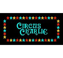 CIRCUS CHARLIE - CLASSIC 80s ARCADE GAME Photographic Print