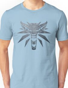 Forest and Wolf Medallion Unisex T-Shirt