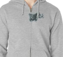 Oh Neow! Zipped Hoodie