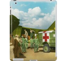 Doctor  - Transferring the wounded iPad Case/Skin